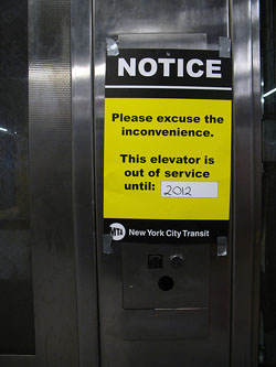 Mta Subway Map Elevators.What Becomes Of The Broken Elevator Second Ave Sagas Second