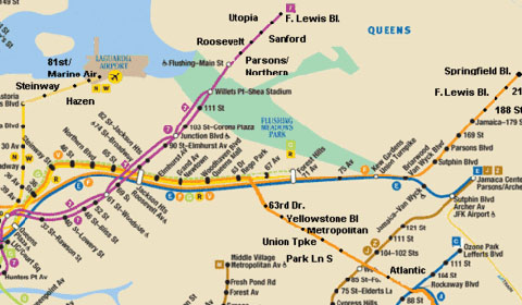 Queens And Manhatan Subway Map.New York Should Take Its Cue From London Transport Second Ave