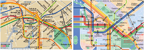 1977 Mta Subway Map.Designing The Ideal Subway Map Second Ave Sagas Second Ave Sagas